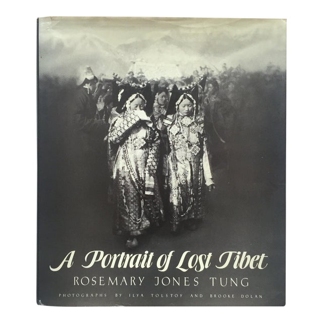 """""""A Portrait of Lost Tibet"""" Cultural History Vintage 1980 1st Edtn Photography Book For Sale"""