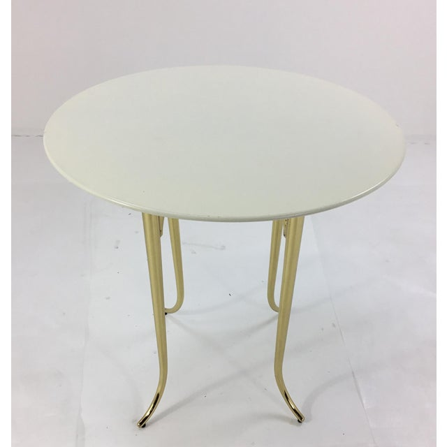 Contemporary Jeffery Bilhuber for Henredon Large Chelsea Road Side Table For Sale - Image 3 of 5