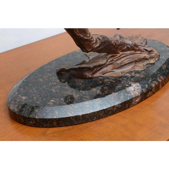 Richard Macdonald Suspension Flamenco Sculpture--2002 USA For Sale - Image 9 of 10