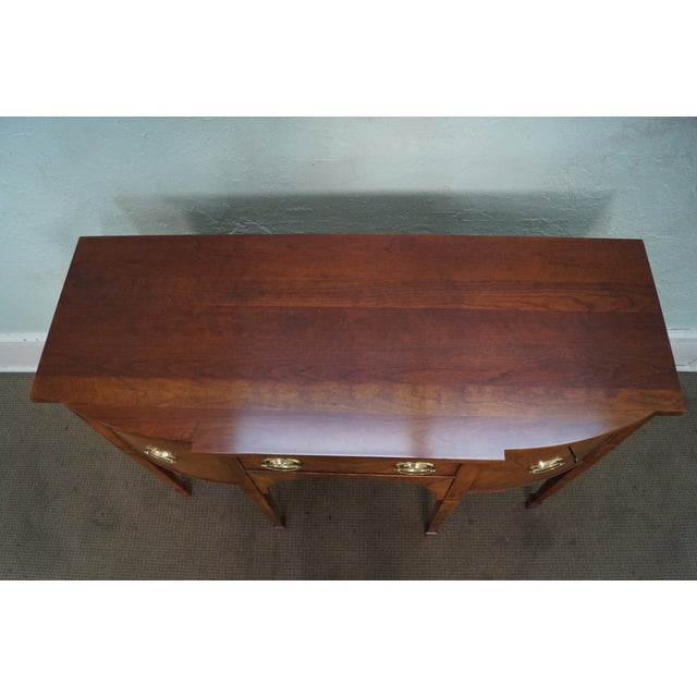 Statton Light Cherry Federal Style Sideboard - Image 10 of 10