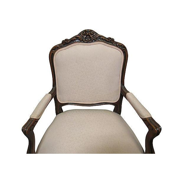 Pink Upholstered Fauteuils - A Pair - Image 5 of 7