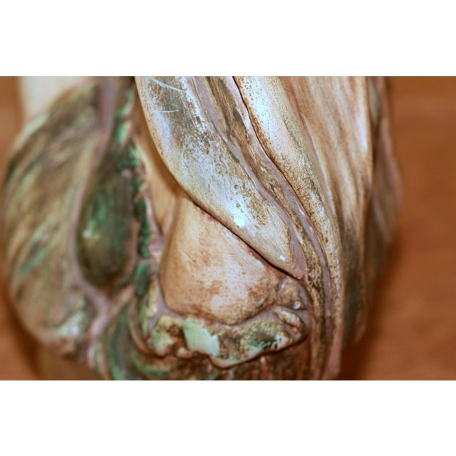 Chalk Madonna and Child Chalkware Bust For Sale - Image 7 of 9