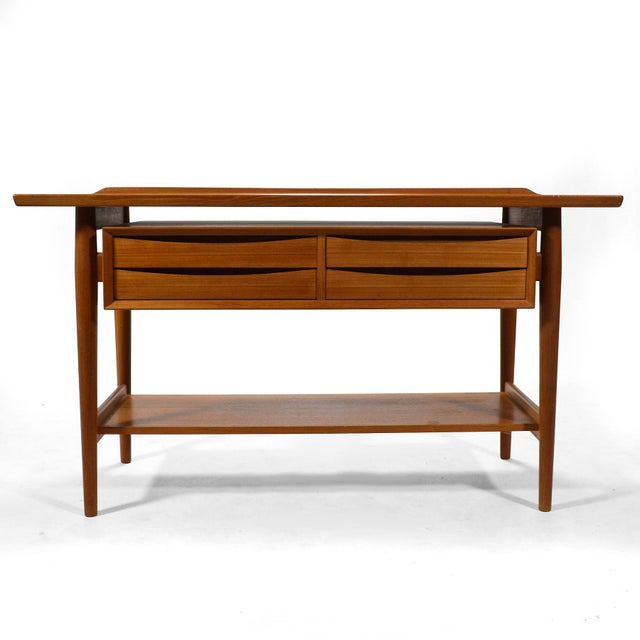 Mid-Century Modern Arne Vodder Server / Console Table by Sibast For Sale - Image 3 of 11