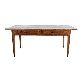 18th Century Country French Farmhouse Work Table or Desk For Sale