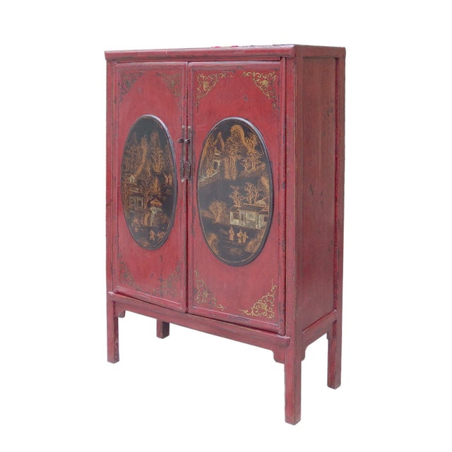 Medicine Herbs Cabinet with Small Drawers - Image 2 of 6