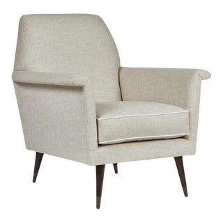 Mid-Century Modern Italian Style Club Chair by Martin and Brockett For Sale