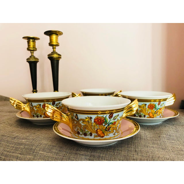 Rosenthal Versace Service Butterfly Garden. Le Jardin - Ikarus. Founded in 1978 by the late Gianni Versace, this Italian...