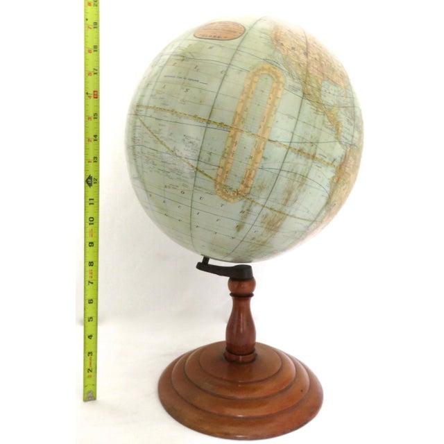 Antique Rand McNally Twelve Inch Terrestrial Globe - Atlas For Sale - Image 9 of 13
