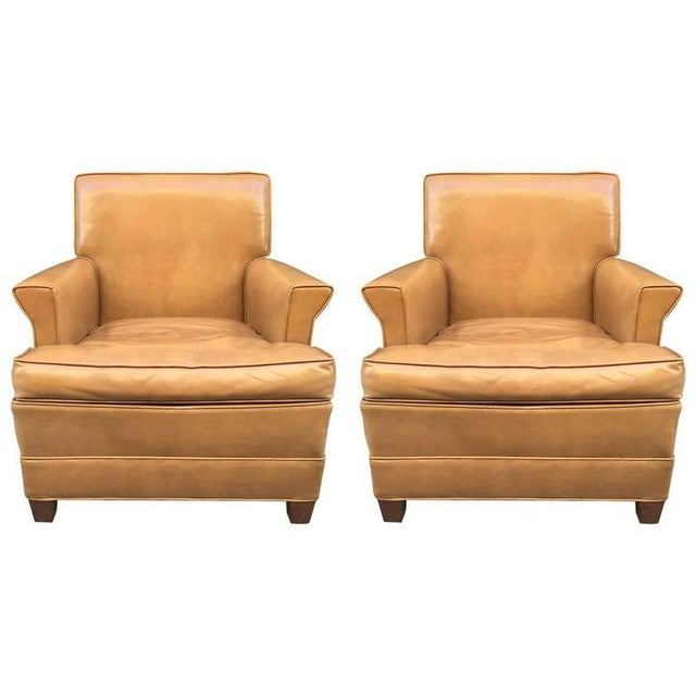 1940s Paul Frankl Style Lounge Chairs For Sale - Image 5 of 5