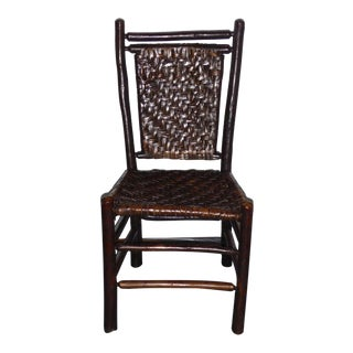 Fantastic Signed Old Hickory Side Chair For Sale