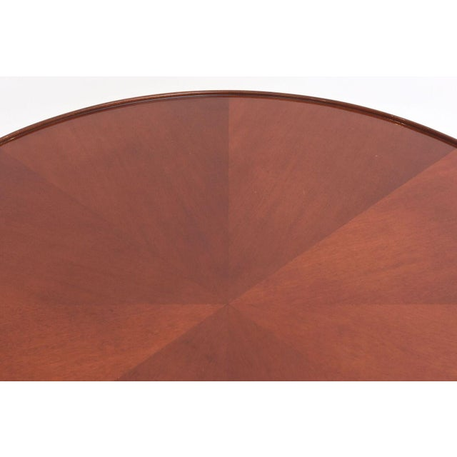Late Art Deco Mahogany Occasional Table For Sale - Image 9 of 9