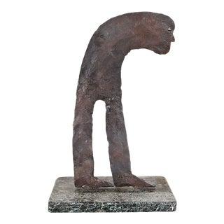 Jean Luc Bertel Brass Sculpture