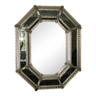 Antique Italian Venetian Mirror For Sale
