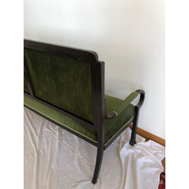 Traditional Very Rare Bentwood Salon Bench Nr. 14 by Thonet For Sale - Image 3 of 8