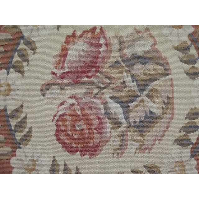 Textile 1980s Aubusson Room Size Rug - 8' X 12' For Sale - Image 7 of 13