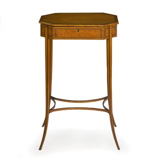 Circa 1800 English Regency Satinwood Antique Side Table Preview