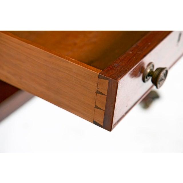 English Regency Mahogany Sofa / Writing Table - Image 7 of 9