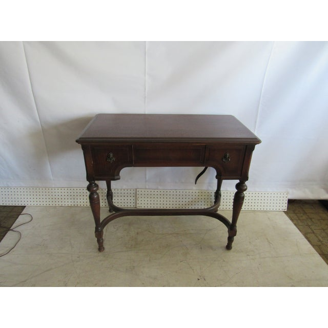 Sewing Machine Desk With White Mfg Co. Sewing Machine For Sale In Los Angeles - Image 6 of 7