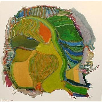 Abstract William Pachner, Denmark, 1966 For Sale - Image 3 of 3