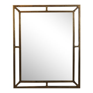 Classical Style Gilt Mirror For Sale