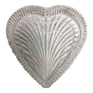 Waterford Crystal Heart Dish For Sale