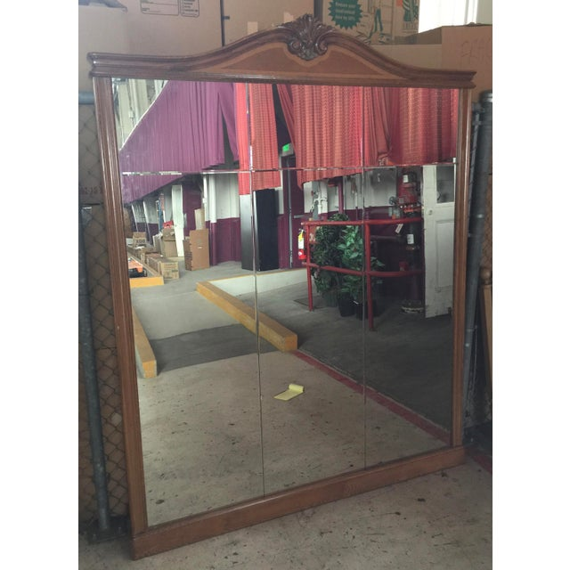 Large Loius XVI French Pier Mirror For Sale - Image 13 of 13
