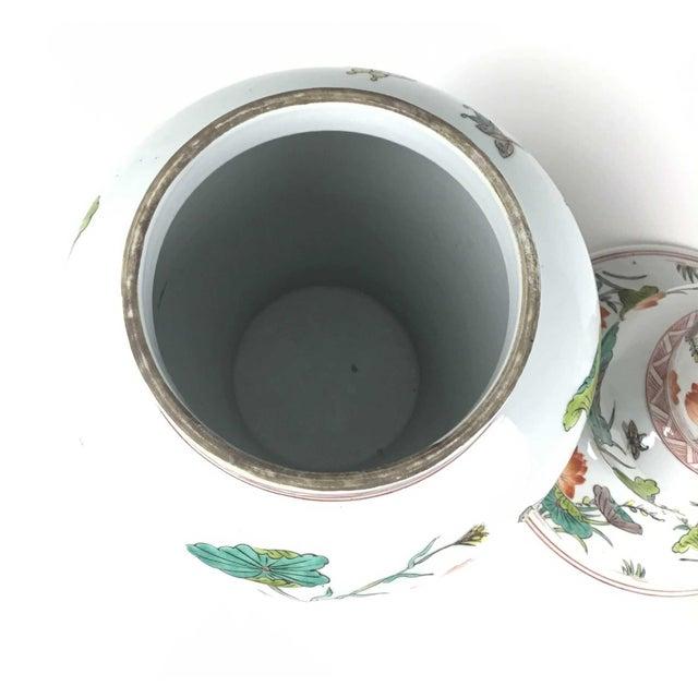 Antique Large Chinese Porcelain Vase For Sale - Image 9 of 13