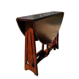 Antique Arts & Crafts Walnut Drop Leaf Pembroke Table Preview
