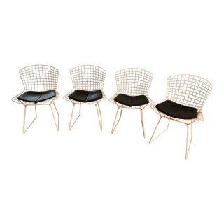 Mid-Century Harry Bertoia Side Chairs- Set of 4 For Sale