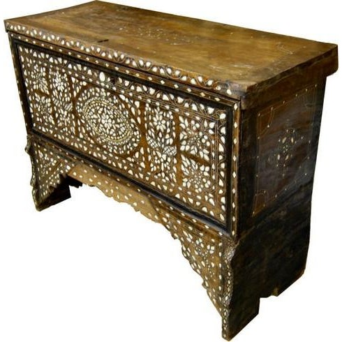Vintage Syrian Bridal Chest - Image 2 of 8