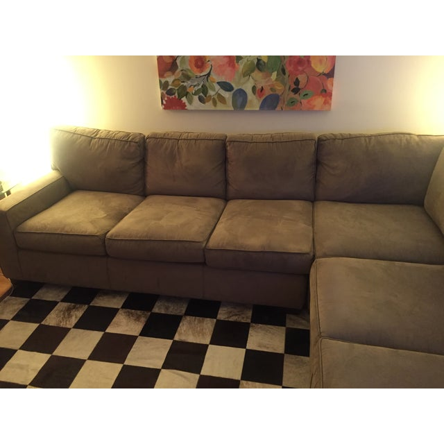 Contemporary Mitchell Gold + Bob Williams Sectional Sofa For Sale - Image 3 of 10