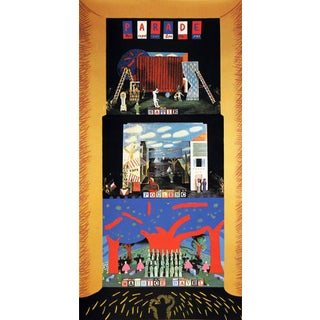 """Triple Bill: The Rite of Spring, Le Rossignol, and Oepidus Rex"" by David Hockney"