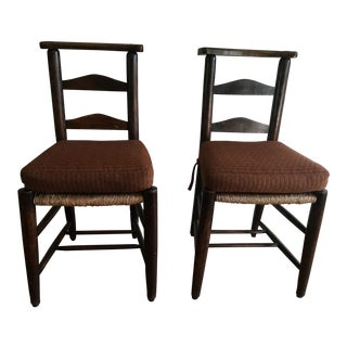St. Paul's Cathedral, London Chapel Chairs - a Pair
