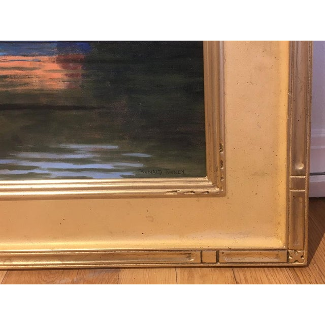 2010s Ronald Tinney, Summer Colors Painting, 2018 For Sale - Image 5 of 7