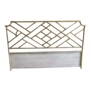 King Bamboo Chippendale Headboard