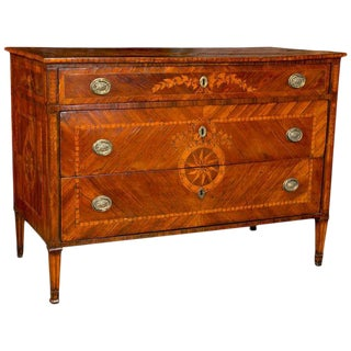 Italian Neoclassical Commode For Sale