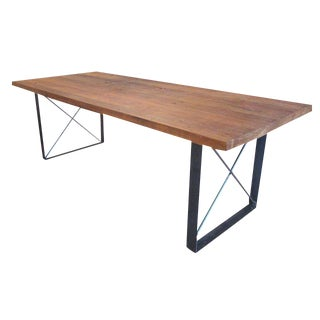 Reclaimed Wood Dining Table For Sale
