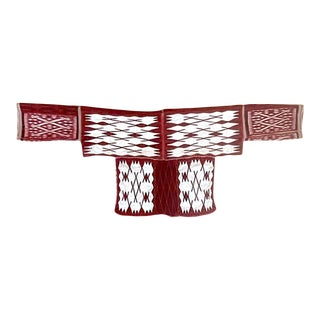 Ceremonial Cape Textile Art from Miao People For Sale