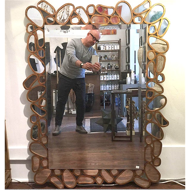 Transitional Mirror by John Richard - Image 2 of 5