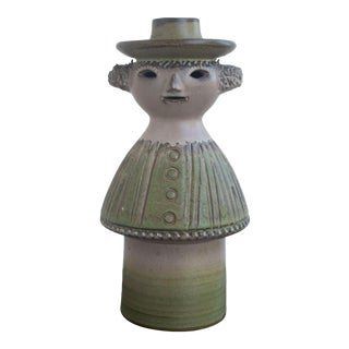 Scandinavian Figural Candle Holder For Sale