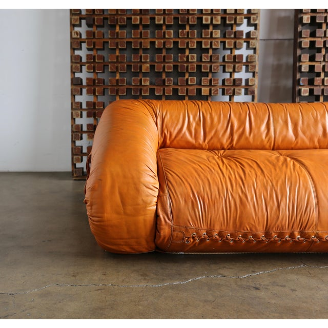 """Mid-Century Modern """"Anfibio"""" Sofa by Alessandro Becchi For Sale - Image 3 of 13"""