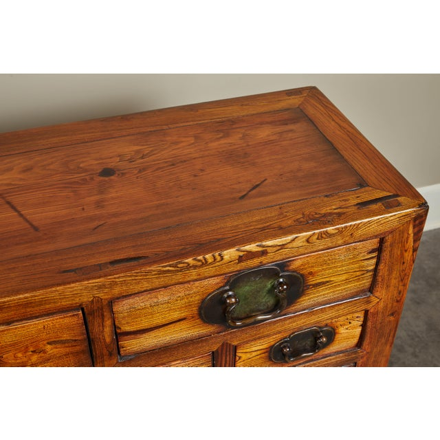 Elm Rare 19th Century Chinese Elm Sideboard For Sale - Image 7 of 10