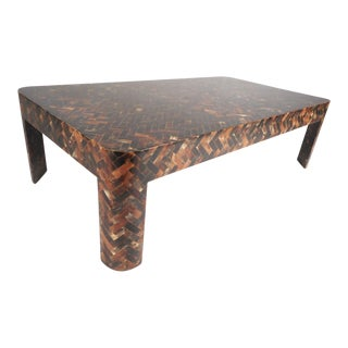 Enrique Garcel Tessellated Horn Coffee Table For Sale