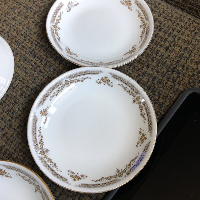 Late 20th Century Royal Doulton English China Dishes - Set of 4 For Sale - Image 5 of 6