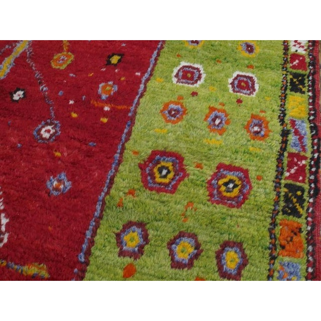 """Textile Festive """"Tree-of-Life"""" Rug For Sale - Image 7 of 9"""