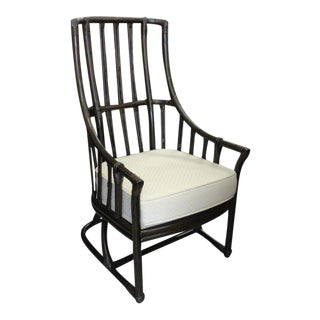 Ficks Reed Rattan High Back Chair
