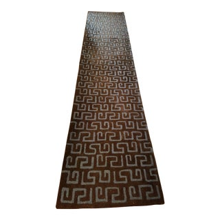 "Safavieh Brown Pile ""Soho"" Runner - 2′6″ × 10′ For Sale"