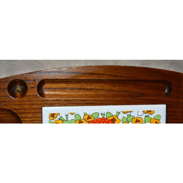 Traditional Vintage Gailcraft Wooden Cheeseboard For Sale - Image 3 of 6