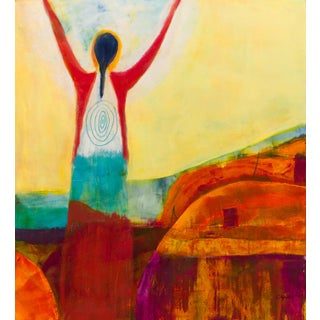 """""""Behold the Light"""" Contemporary Figurative Abstract Art Print For Sale"""