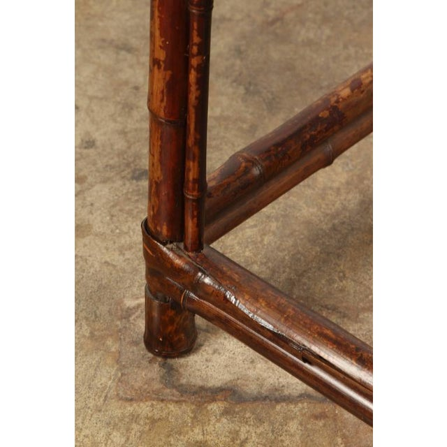 19th Century Chinese Bamboo Arm Chair For Sale - Image 9 of 9